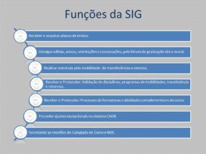 SIG - Secretaria Integrada de Graduação