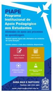 Apoio Pedagógico Cartaz com Módulos