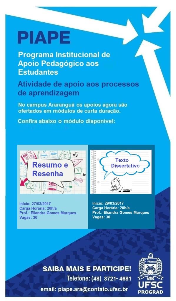 Apoio Pedagógico Cartaz - Leitura e produção textual